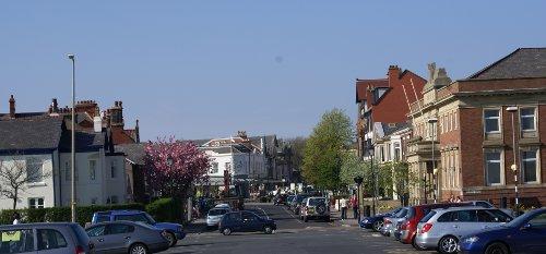 Noch ein Blick aufs Stadtzentrum