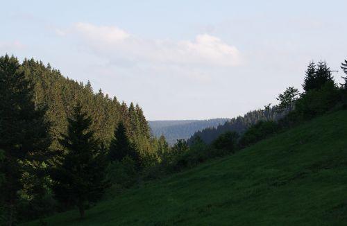 Sicht auf das Tal