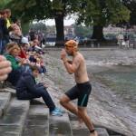 Rüdiger nach dem Schwimmen