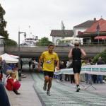 Rüdiger beim Laufen in der Marktstättenunterführung