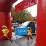 Altstadtlauf Konstanz, Bambinimädels im Ziel, 2012