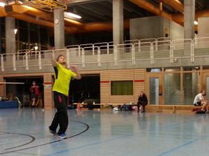 Rüdiger Herreneinzel Mannschaft Badminton PTSV Konstanz 2012