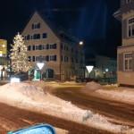Schnee im Schwarzwald zur Marina BW der Piraten im Dezember 2012
