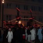 Piratenschiff - nachts Schtrooßefasnet Fasnet Konstanz