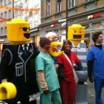 Legofigur als Häs - Schtrooßefasnet Fasnet Konstanz