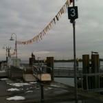 Lumpebändele dekorieren auch den Hafen Schtrooßefasnet Fasnet Konstanz