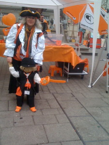 Ute Fasnet Marktstätte Piraten-Jupi 2011 Piratenpartei