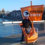 Ute Rhein Piratenschiff 2011 Piratenpartei