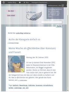 Screenshot utele.eu aktuelles Design in 600-px-Breite
