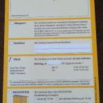 Benachrichtigung zur Abholung - Paket als Brief