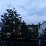 Mond im Hellen - Balkon