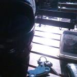 Moppedschlüssel mit kleinem Motorrad Banditin
