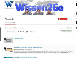 wissen2go Videos zur #btw13