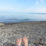Füße am Hörlepark Konstanz