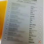 Wahlzettel mit Kreuz bei den Piraten