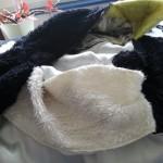 Kragen und Mütze für Plüschpinguinschnabel