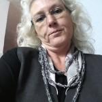 Dreireihige Strickkette wie sie getragen werden kann