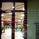 Schwaketenbad Konstanz lange Liste der Öffnungszeiten, da täglich anders