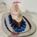 Volle Fahrt voraus mit bunten Fenstern - Kreuzfahrtschiff - Kuchen - Keks - Kalter Hund