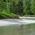 Künstlich angelegter Badesee in Ried - 9. Mai