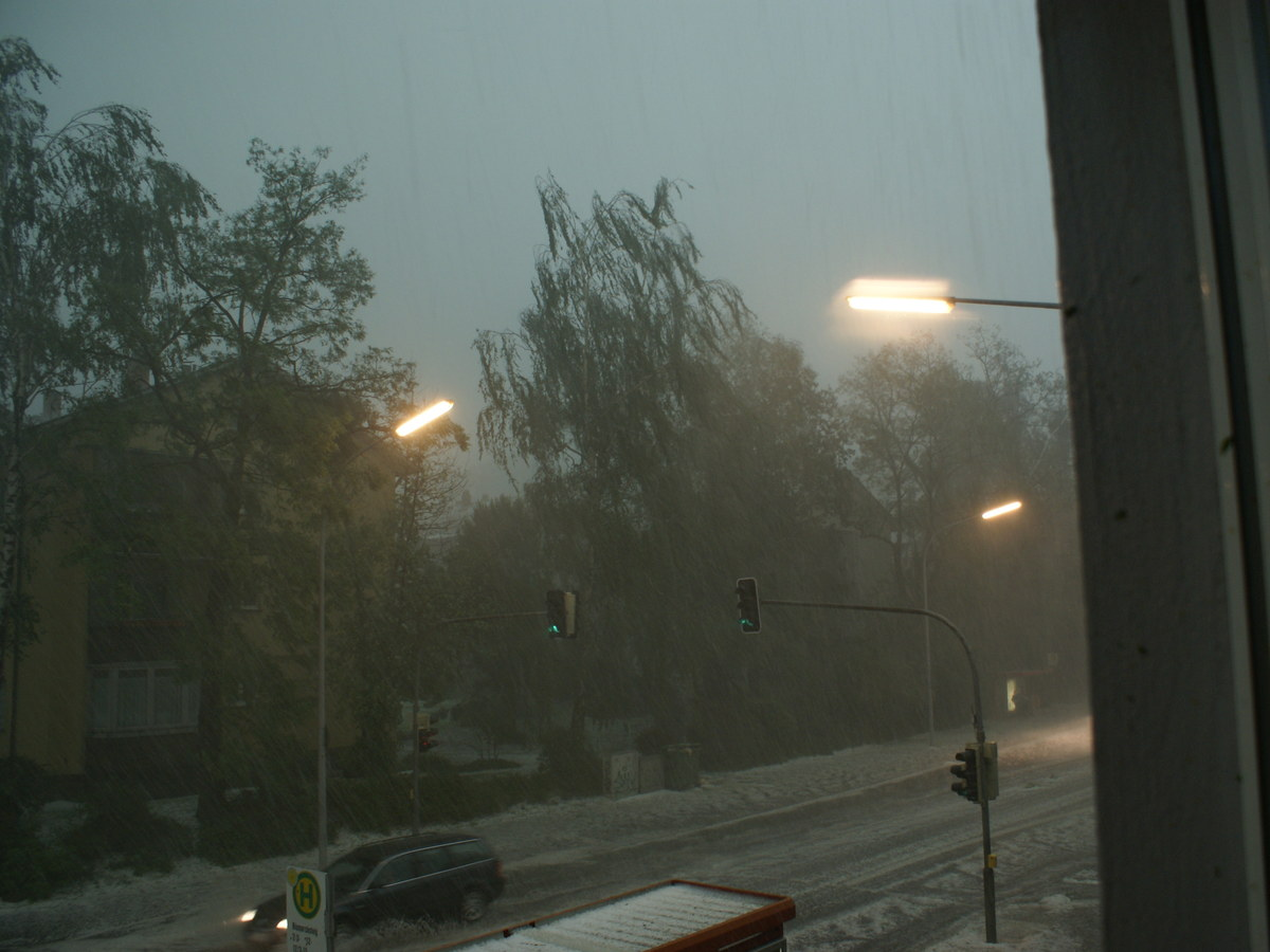 Unwetterwarnung Konstanz