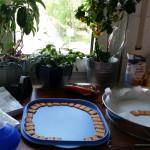 Kekse für den Rasen - Fußball-Keks mit Rasen aus kaltem Hund