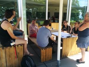 Dialekt-Session beim #bcbs14 - Foto von http://yvonnesim.wordpress.com