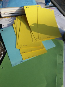 Buchhaltung und Papierkram mein Umgang damit zum Jahresanfang