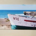 Postkarte mit Urlaubsmotiv und Namen - coole Werbung als Postkarte