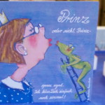 Prinz oder nicht Prinz - ich küss dich mal - Motiv