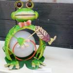 Solarfrosch in Gartenoptik, aber nur für den Innenraum