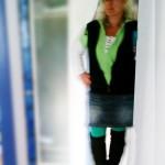 ...heute mal nicht in blau... ute in schwarz, weiß, grün