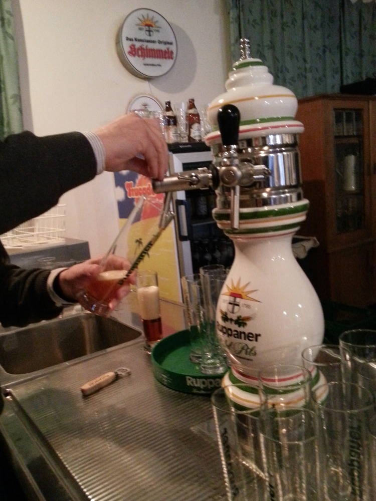Frisch gezapft - Ruppaner Bierseminar - Konstanz Hohenegg