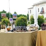Kuckucksuhr - Hingucker beim Flohmarkt San Zenone, Italien