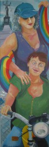 Das ganz Bild wurde von Hanne Hick gemalt und zeigt mehr, als sonst mein Avatarausschnitt