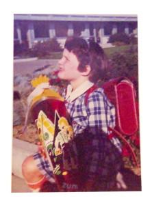 Schulanfang Berchenschule 1970
