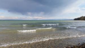 See - Bodensee - Konstanz - ein bisschen Wind - die Alpen ganz nah