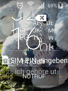 s5 Display kaputt, untendrunter ist noch bissel was laut Screenshot