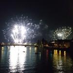 Seenachtsfest am Rhein Feuerwerk 2015