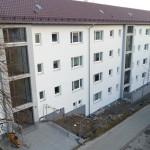 3/2013 Immernoch einige Baustellen auch nach Einzug der Mieter, nach Sanierung des ehemaligen Studiwohnheims, Wollmatinger Straße, Bundesimmobilie, Konstanz