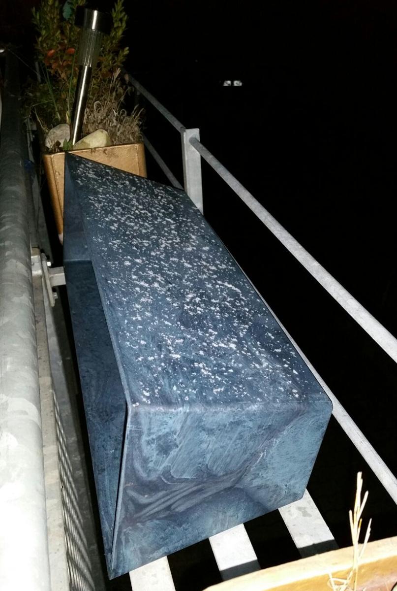 ...es hat geschneit in Konstanz ;)