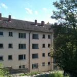 9/2011 Ehemals Studiwohnheim, leerstehend, Wollmatinger Straße, Bundesimmobilie, Sanierung, Konstanz