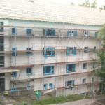 7/2012 Baustelle zur Sanierung des ehemaligen Studiwohnheims, Wollmatinger Straße, Bundesimmobilie, Konstanz