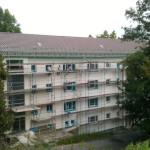 07/2012 Baustelle zur Sanierung des ehemaligen Studiwohnheims, Wollmatinger Straße, Bundesimmobilie, Konstanz