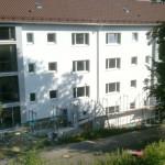 8/2012 Baustelle zur Sanierung des ehemaligen Studiwohnheims, Wollmatinger Straße, Bundesimmobilie, Konstanz