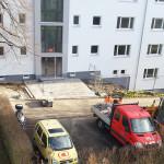 12/2012 Baustelle zur Sanierung des ehemaligen Studiwohnheims, Wollmatinger Straße, Bundesimmobilie, Konstanz