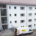 2/2013 Baustelle zur Sanierung des ehemaligen Studiwohnheims, Wollmatinger Straße, Bundesimmobilie, Konstanz