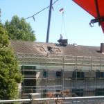 06/2012 Baustelle zur Sanierung des ehemaligen Studiwohnheims, Wollmatinger Straße, Bundesimmobilie, Konstanz