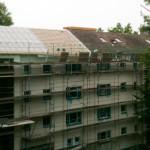 6/2012 Baustelle zur Sanierung des ehemaligen Studiwohnheims, Wollmatinger Straße, Bundesimmobilie, Konstanz